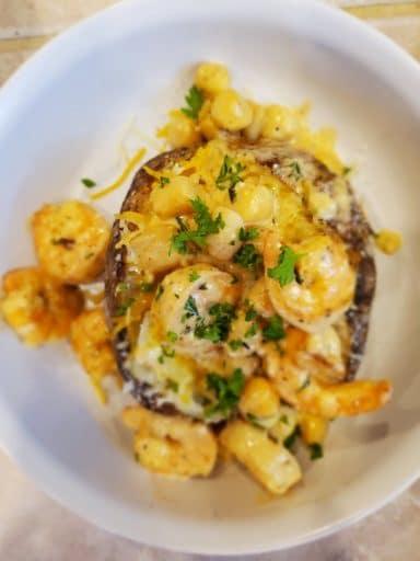 Seafood Baked Potato