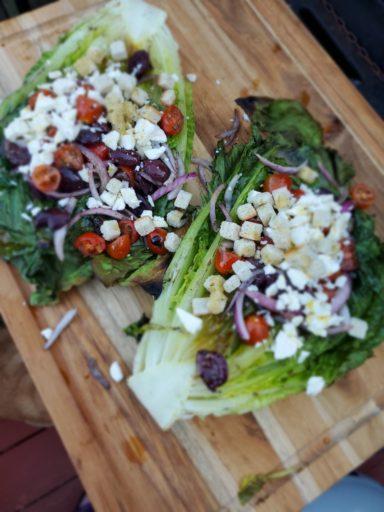 Grilled Mediterranean Salad