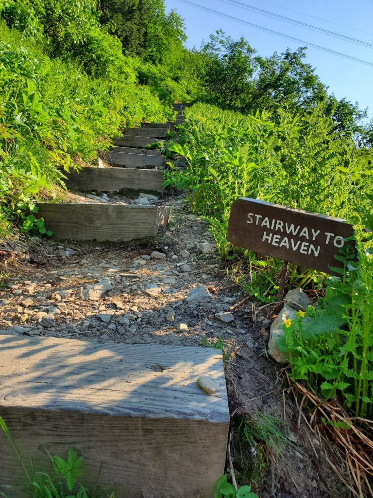 Stairway to Heaven Alaska Hiking