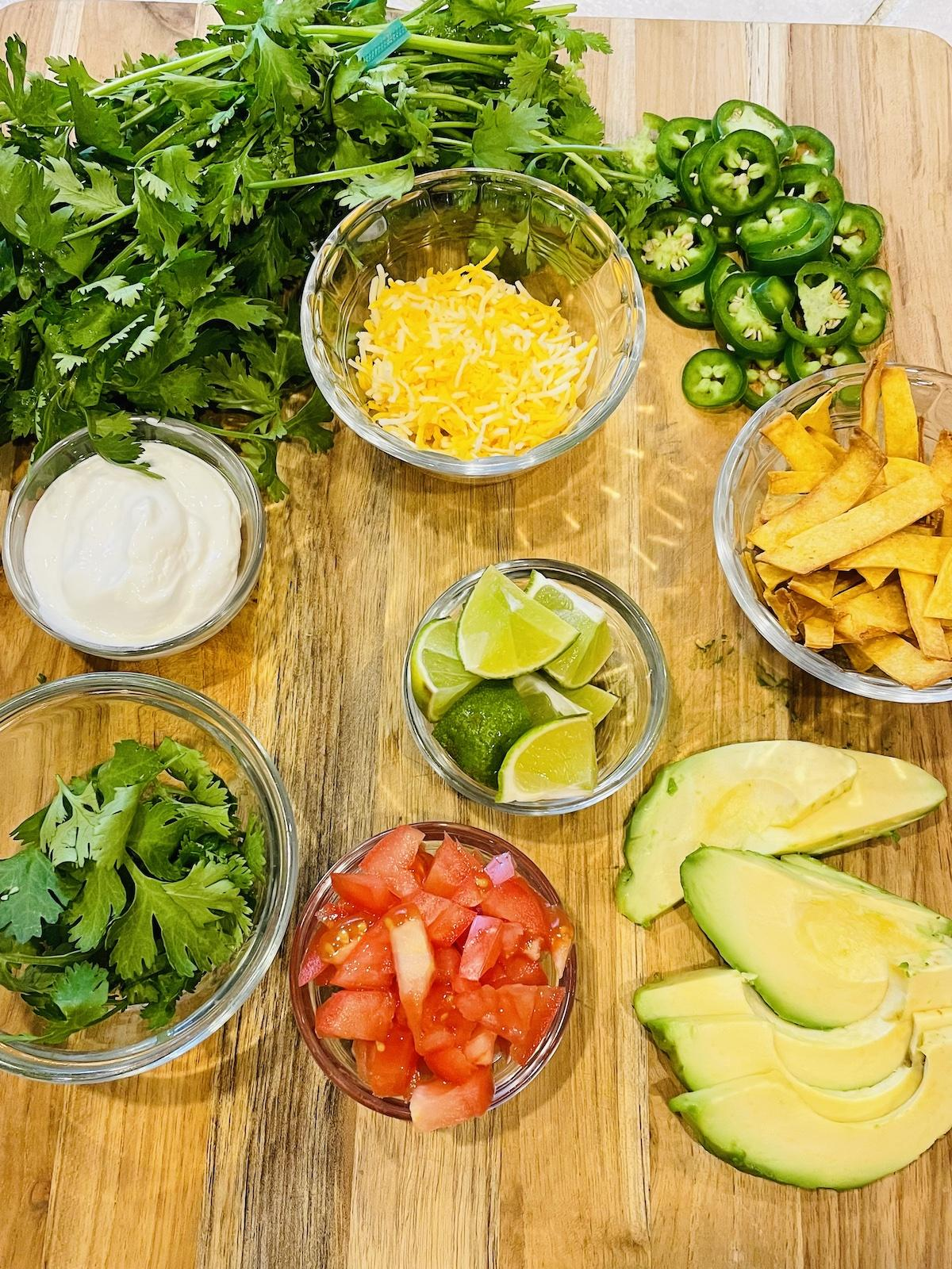 Toppings For White Bean Chicken Chili